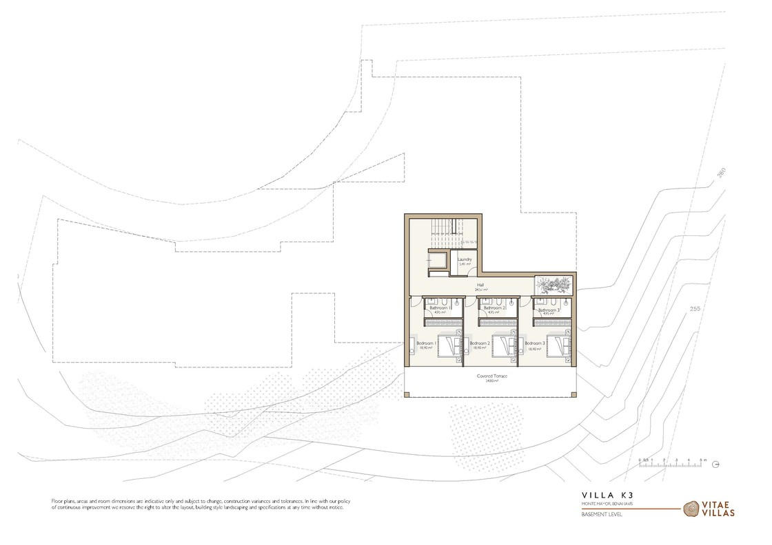 Vitae Villas Spain Andalucia K3 basement level