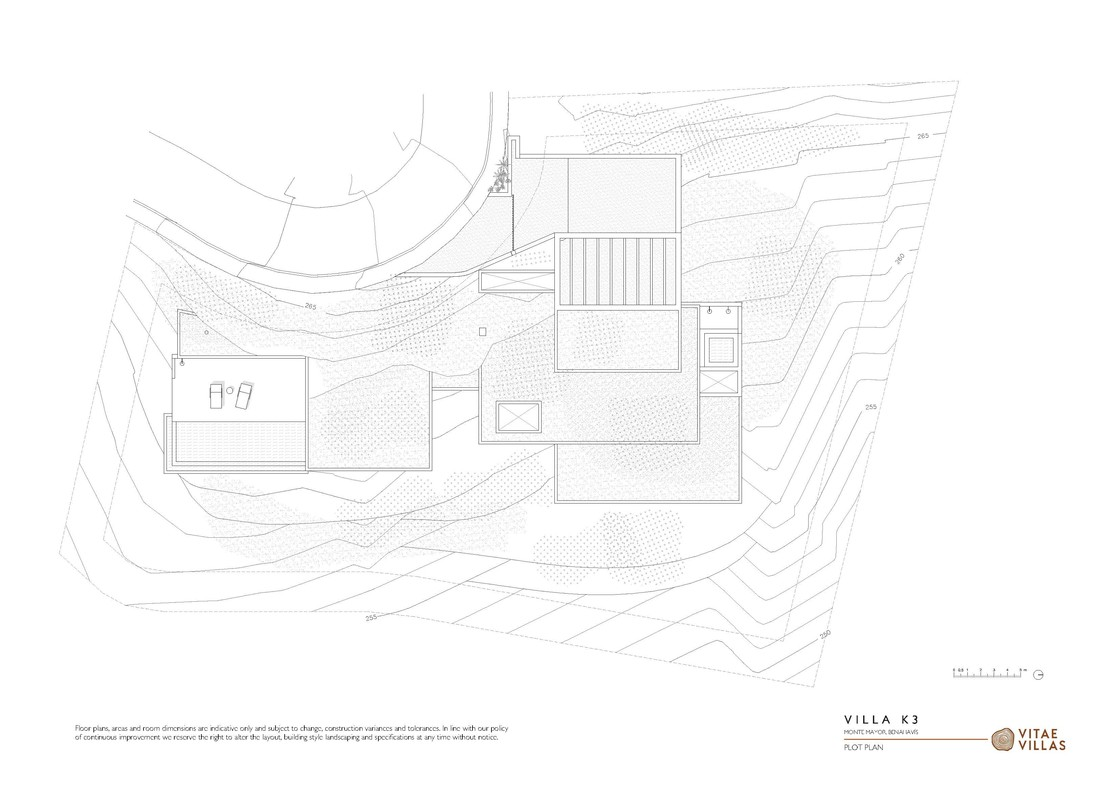 Vitae Villas Spain Andalucia K3 plot plan