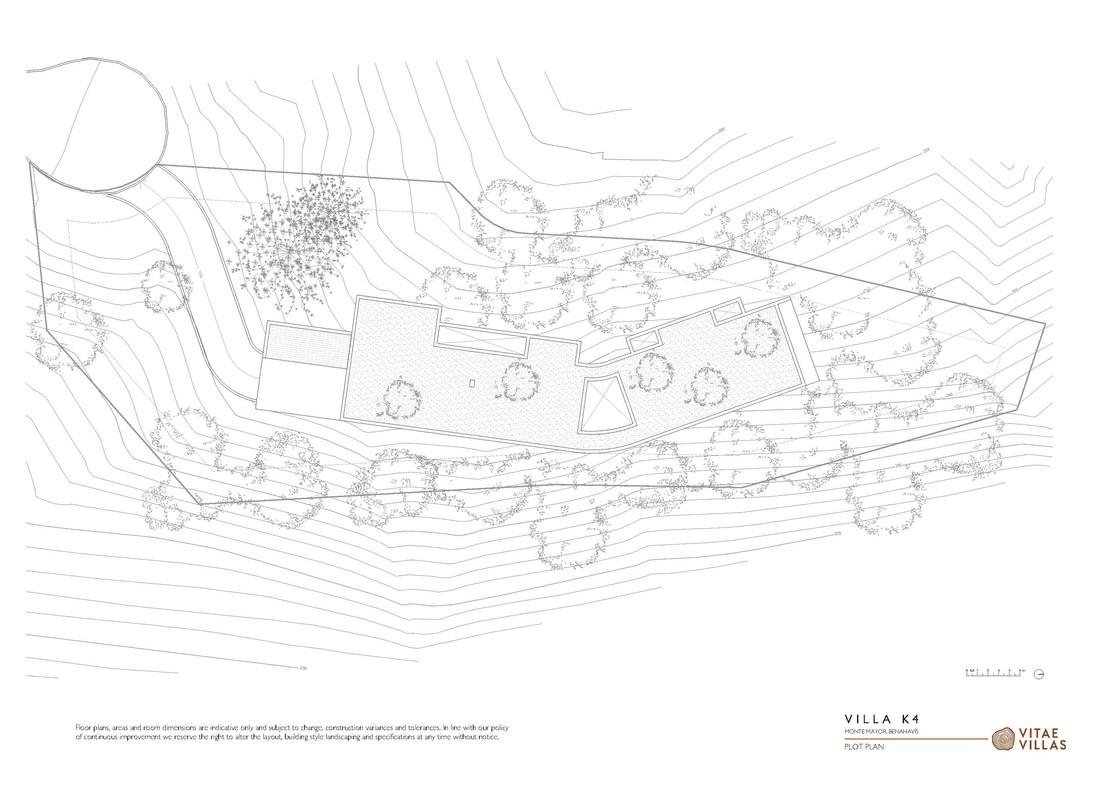 Vitae Villas Spain Andalucia K4 plot plan