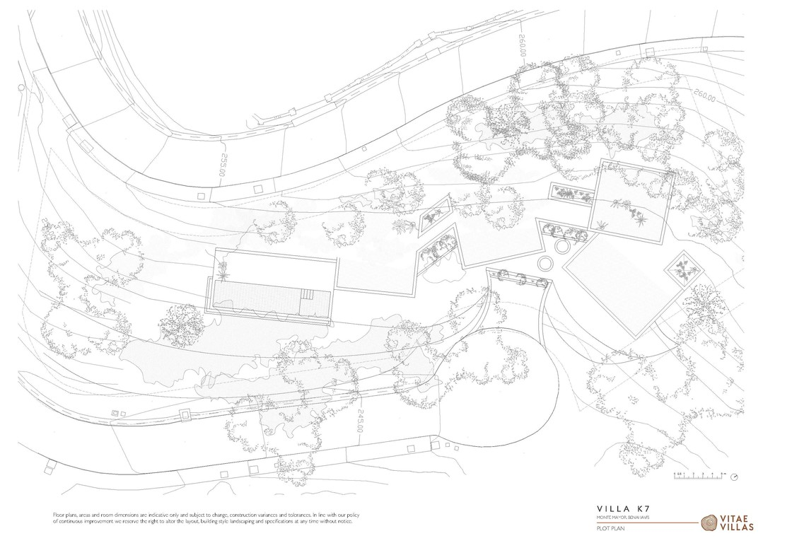 Vitae Villas Spain Andalucia K7 plot plan