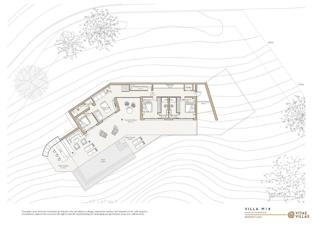 Vitae Villas Spain Andalucia M14 basement level