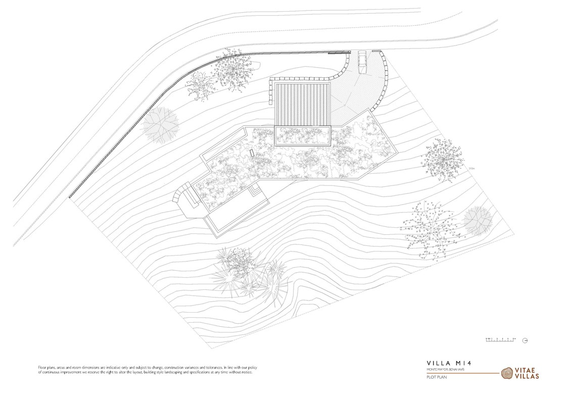 Vitae Villas Spain Andalucia M14 plot plan